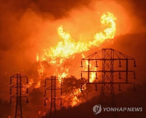 서부 최대전력사 PG&E 산불 배상액 180억불…주가 폭락