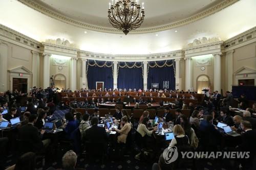 '트럼프 탄핵안' 하원 상임위 통과…내주 본회의 표결 전망