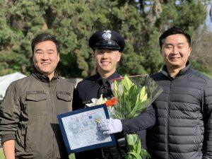 한인 경관 2명 LAPD 아카데미 졸업