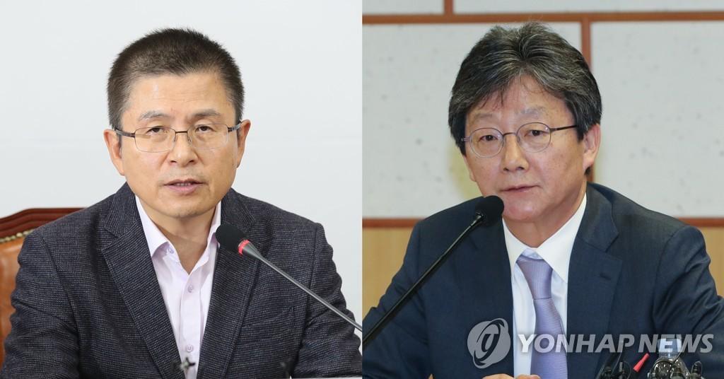 """한국-새보수 '동상이몽'… """"다 모이자"""" vs """"묻지마통합 안된다"""""""