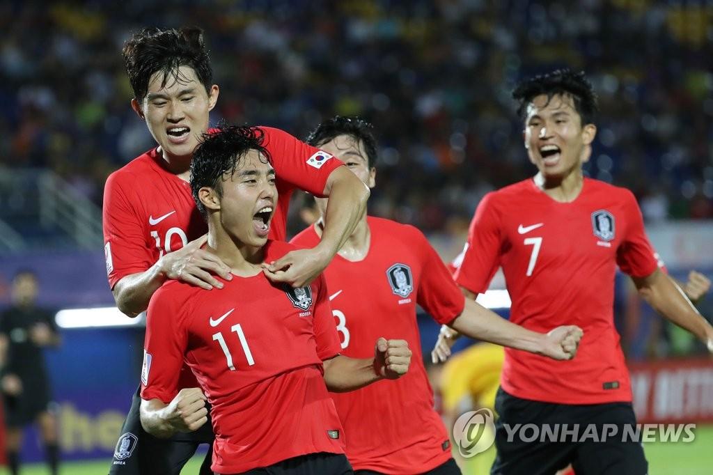 '이동준 극장골' 김학범호, AFC U-23 챔피언십 중국에 1-0 신승