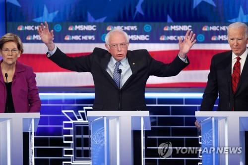 """러시아가 샌더스 돕는다?…WP """"미, 샌더스에 러 시도 전달"""""""