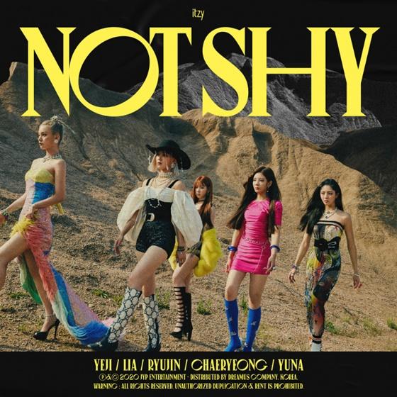 ITZY 'Not Shy' 빌보드 월드 디지털송 차트 8위 데뷔
