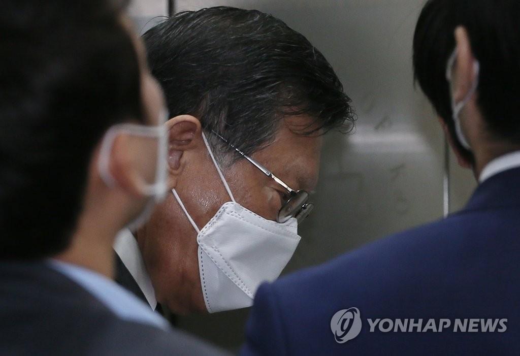 '계열사 부당지원' 박삼구 前 금호 회장 구속