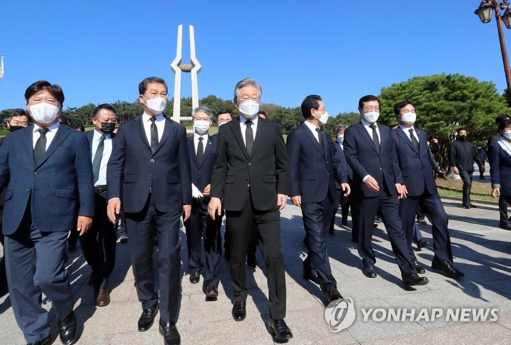 '25일 지사직 사퇴' 이재명… '워밍업' 끝내고 본선행보 본격화